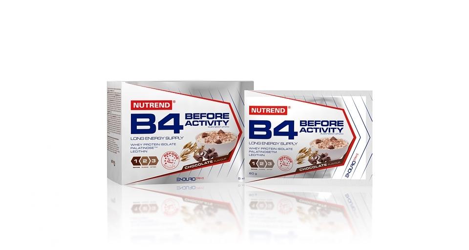 B4 BEFORE ACTIVITY 5x 60g.