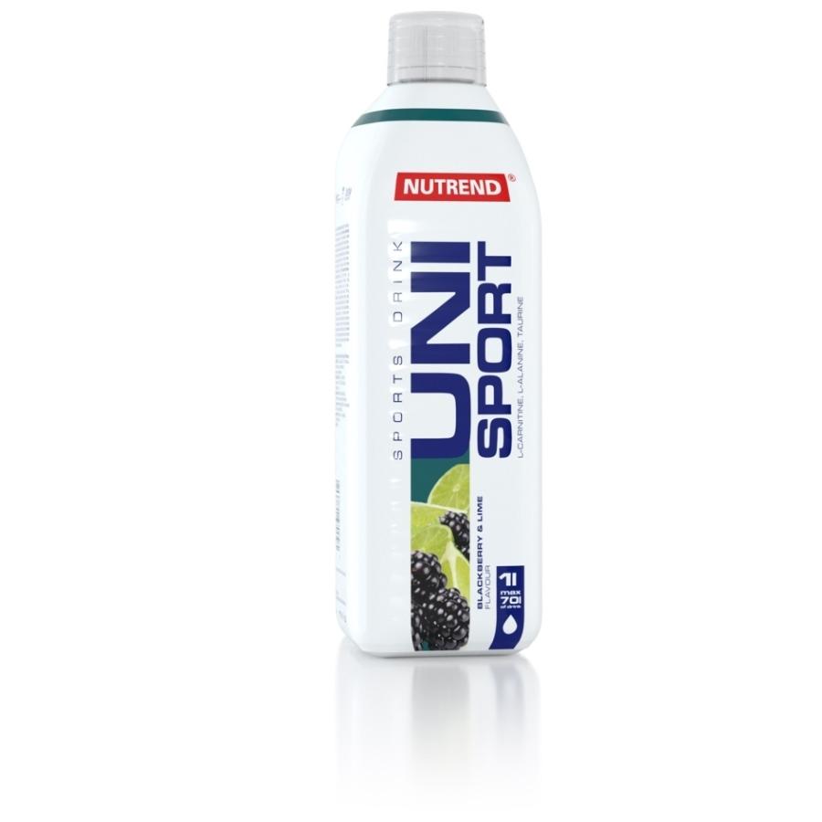 NUTREND UNISPORT 1000ml._Balackberry+Lime
