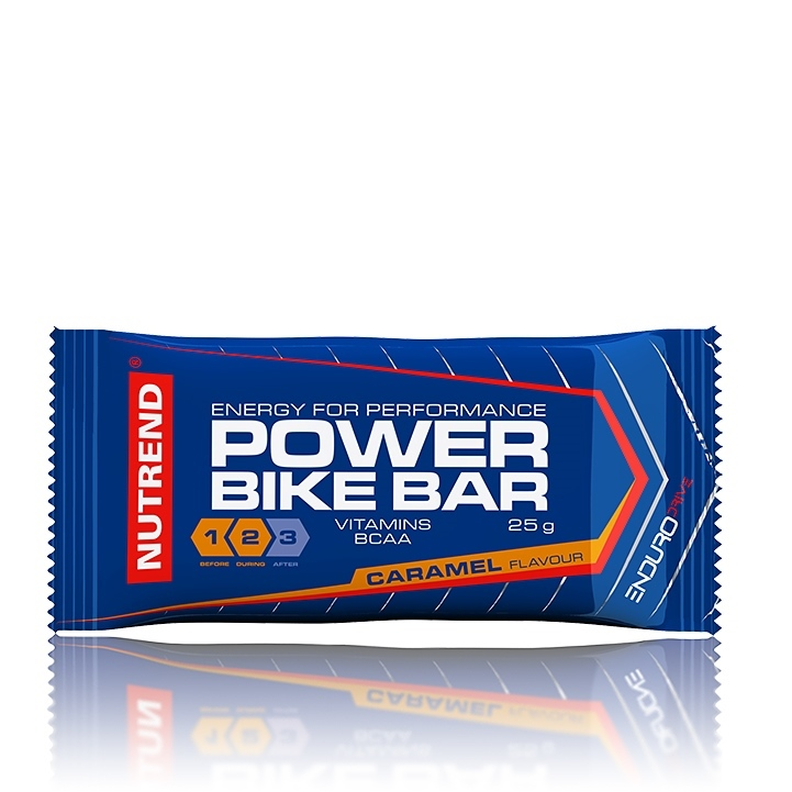 POWER BIKE BAR 25g. CARAMEL (energy bar).