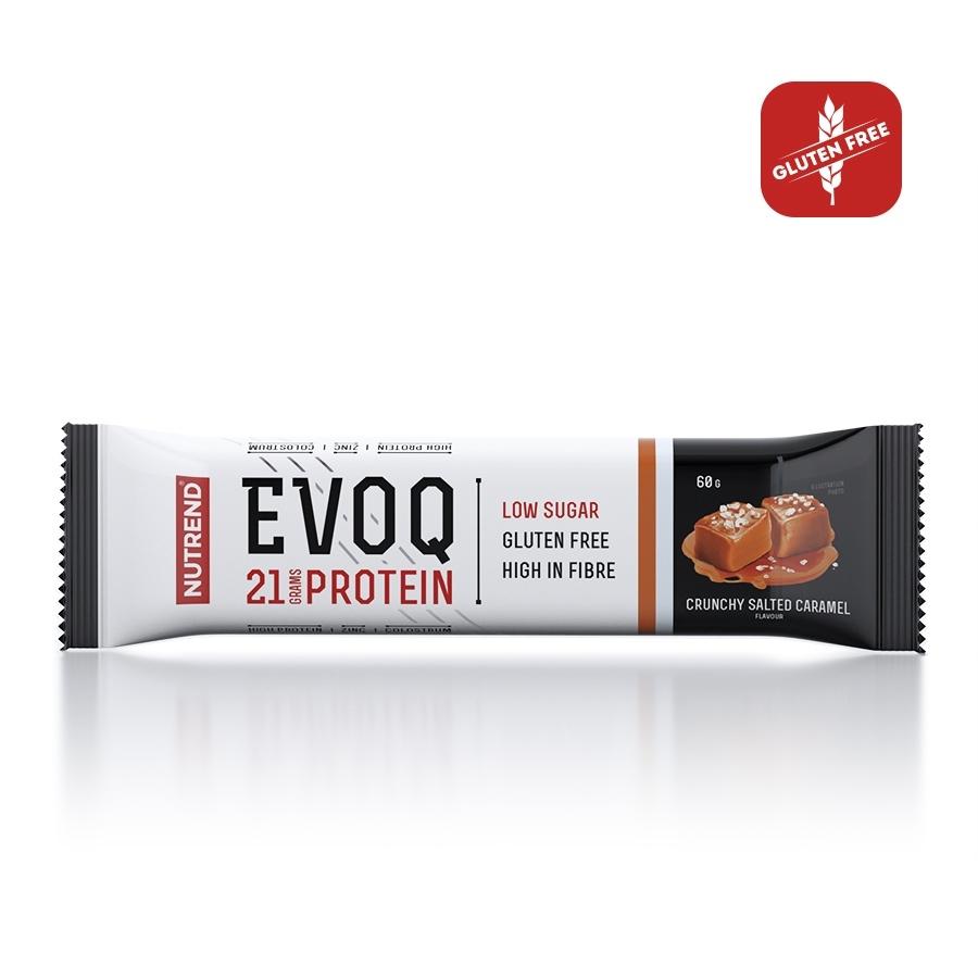 EVOQ BAR Crunchy Salted Caramel 60g.