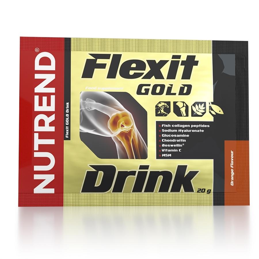 Flexit-GOLD-Drink-20g-ORANGE (Apelsīns)